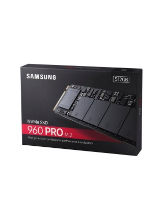 Samsung 960 PRO 512GB, M.2 PCIe